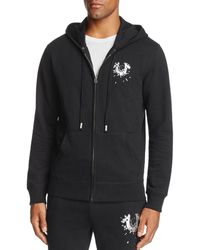 8ca490893 Lyst - True Religion Black Shattered Hs Updated Hoodie in Black for Men