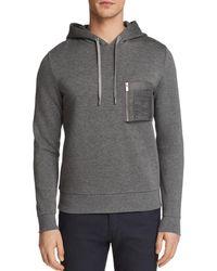The Kooples - Zip Hoodie Sweatshirt - Lyst
