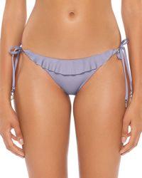 SOLUNA - Under The Sun Ruffle Tie Bikini Bottom - Lyst