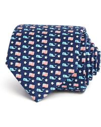 Vineyard Vines - Whale And Flag Classic Tie - Lyst