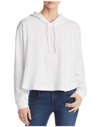 Three Dots - Cropped Hoodie - Lyst