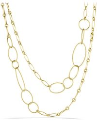 David Yurman | Mobile Link Necklace In Gold | Lyst