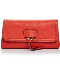 Annabel Ingall - Collette Leather Clutch - Lyst