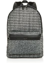 Michael Kors - Kent Mixed Houndstooth Print Backpack - Lyst