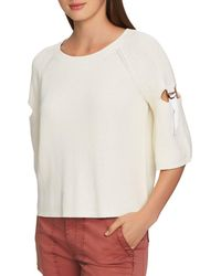 1.STATE - Cutout Sleeve Jumper - Lyst