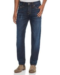 True Religion - Rocco Slim Fit Jeans In Dark Tunnel - Lyst
