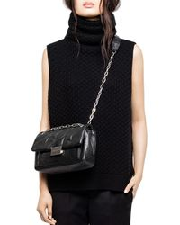 Zadig & Voltaire - Grace Sleeveless Cashmere Jumper - Lyst