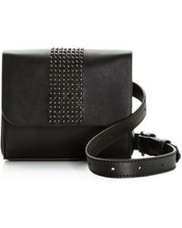 Nasty Gal - Hipster Studded Belt Bag - Lyst