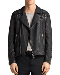 AllSaints - Taro Biker Jacket - Lyst