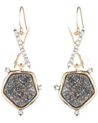 Alexis Bittar - Druzy Crystal Drop Earrings - Lyst