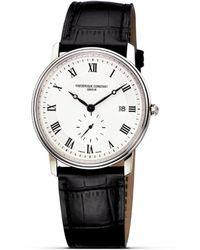 """Frederique Constant - Frédérique Constant """"constant"""" Classic Quartz Watch, 39 Mm - Lyst"""