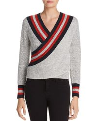 C/meo Collective - Faux-wrap Sweater - Lyst