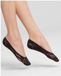 Hue - Lace Perfect Edge Liner Socks - Lyst