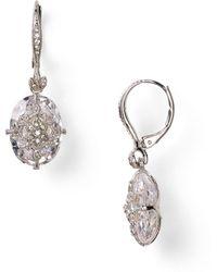 Nadri - Pave Drop Earrings - Lyst