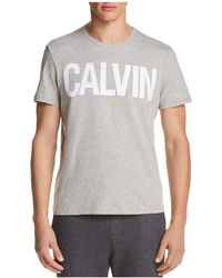 CALVIN KLEIN 205W39NYC - Jeans Logo Short Sleeve Tee - Lyst