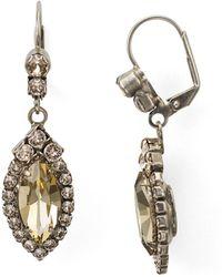 Sorrelli - Elegant Navette Drop Earring - Lyst