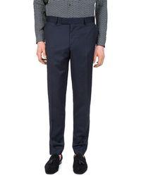 The Kooples - Stitched Lines Slim Fit Dress Pants - Lyst