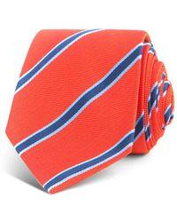 Thomas Pink - Sudbury Stripe Woven Classic Tie - Lyst