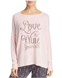 Pj Salvage - Love The Wine Long Sleeve Top - Lyst