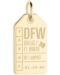 Jet Set Candy - Dfw Dallas Ft. Worth Luggage Tag Charm - Lyst