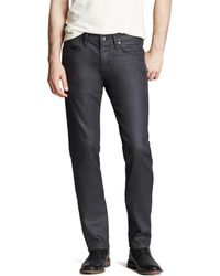 John Varvatos - John Varvatos Usa Jeans Bowery Slim Straight Fit Jeans In Graphite - Lyst