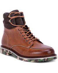 Robert Graham - Men's Canon Rock Lace-up Combat Boots - Lyst