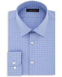 Bloomingdale's - Check Regular Fit Dress Shirt - Lyst