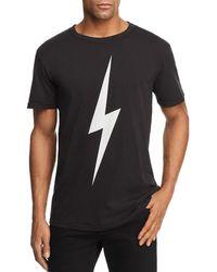 Chaser - Lightning Bolt Crewneck Tee - Lyst