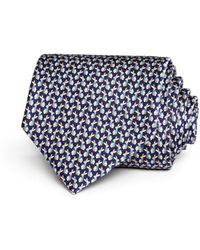 Ferragamo - Rabbits With Neckties Silk Classic Tie - Lyst