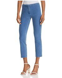 Theory - Classic Denim Skinny Trousers - Lyst