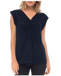 B Collection By Bobeau - Eloise Cap-sleeve Top - Lyst