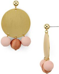 Rebecca Minkoff - Circle Bauble Earrings - Lyst