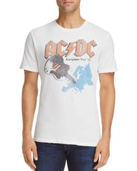 Junk Food - Acdc Europe Tour Tee - Lyst