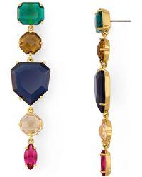 Kate Spade - Linear Drop Earrings - Lyst