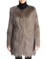 Unreal Fur - Wanderlust Faux Fur Coat - Lyst