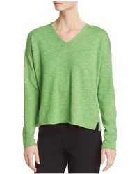 Eileen Fisher - Relaxed V-neck Sweater - Lyst