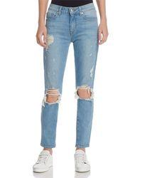 10 Crosby Derek Lam - Devi Mid-rise Authentic Skinny Jeans In Light Wash - Lyst