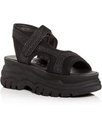 f79c68e23339 Joshua Sanders - Women s Fuxia Spice Platform Sandals - Lyst