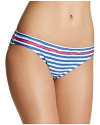 Blush By Profile - Castaway Stripe Bikini Bottom - Lyst
