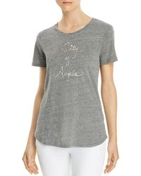 PAIGE - Bexley Graphic Tee - Lyst
