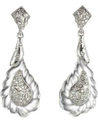 Alexis Bittar - Rope Lucite Drop Earrings - Lyst