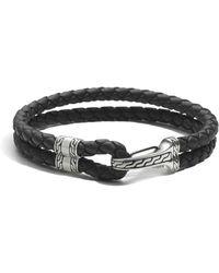 John Hardy - Men's Sterling Silver Classic Chain Hook Station Bracelet - Lyst