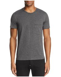 7 For All Mankind - Raw Pocket Crewneck Short Sleeve Tee - Lyst