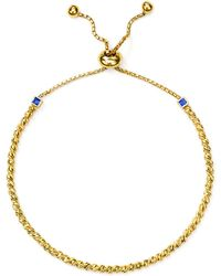 Officina Bernardi - Slash Bead Slider Bracelet - Lyst