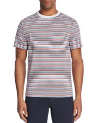 Theory - Classic Surfer Striped Crewneck Tee - Lyst