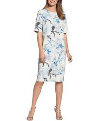 Basler - Floral-print Shift Dress - Lyst