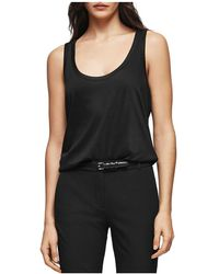 Reiss   Lilith Scoop-neck Tank   Lyst