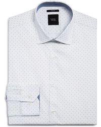 W.r.k. - Pindot Slim Fit Dress Shirt - Lyst