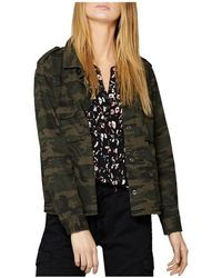 Sanctuary - In The Fray Camo Jacket - Lyst