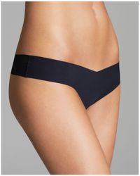 Commando - Solid Thong - Lyst